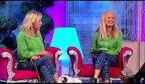 Jo Good, Anna Webb (The Barking Blondes) Molly & Matilda on The Alan Titchmarsh Show ITV1 Week 3