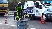 Ravage bij ongeval op A2 Weert