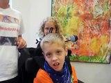 Wheelchair Action Art Exhibition at Senior Art Show