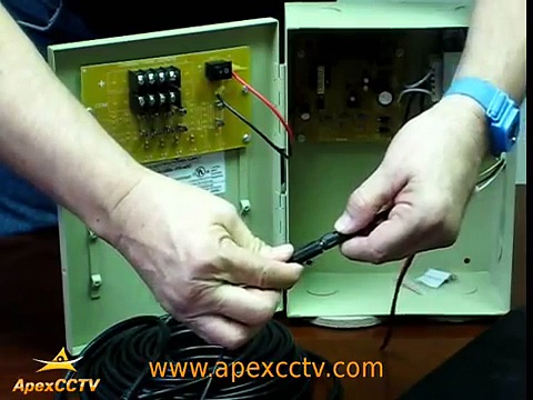 Video Tutorial : How to Connect Security Cameras & Power Supplies to a Security DVR