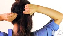 CUTE BACKTOSCHOOL HAIRSTYLES  BRAIDED PONYTAIL  MESSY BUN UPDOS FOR MEDIUM LONG HAIR TUTORIAL