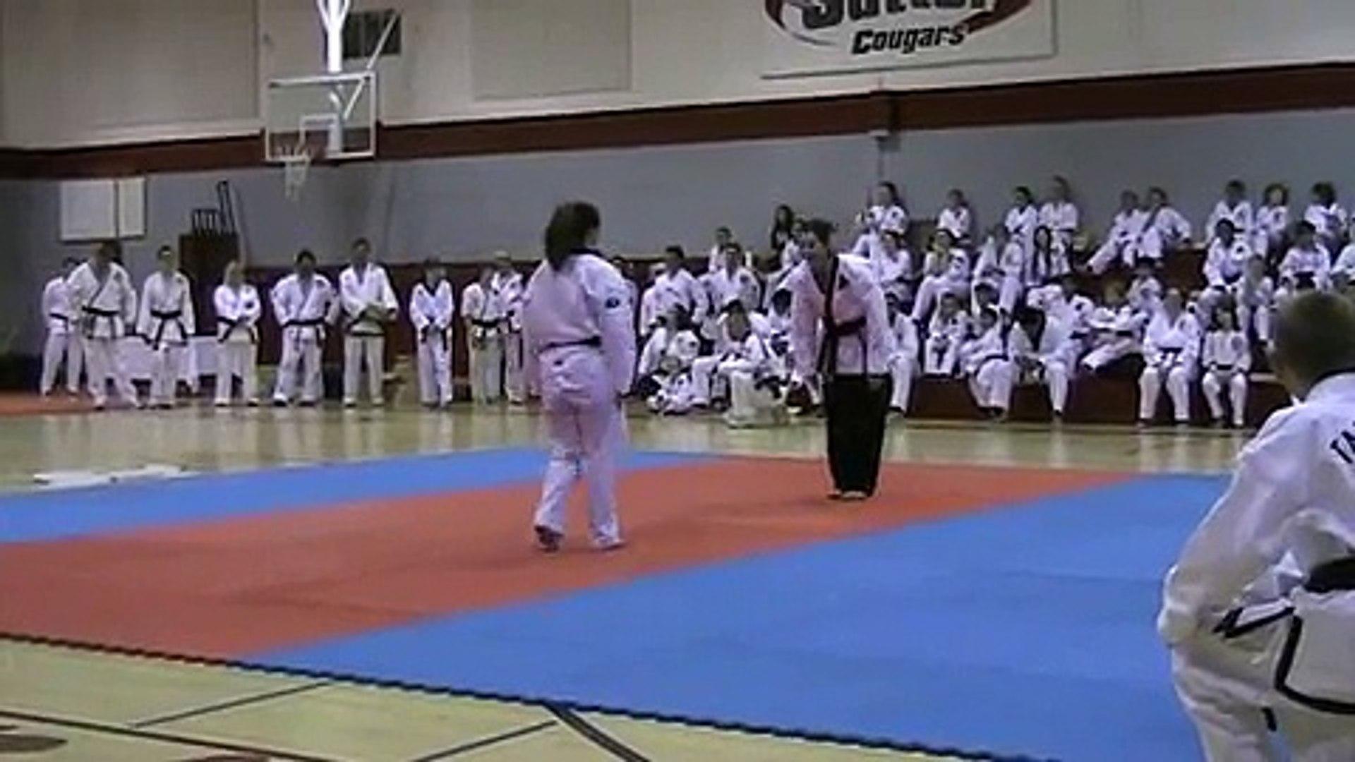 Karen Bowman Test for 5th Degree Black Belt