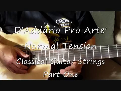 D'addario Pro Arte' Normal tension Classical Guitar Strings