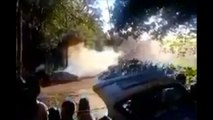 Rally Spain 2015 Car crash Six people killed in rally car crash in Spain Spain rally crash
