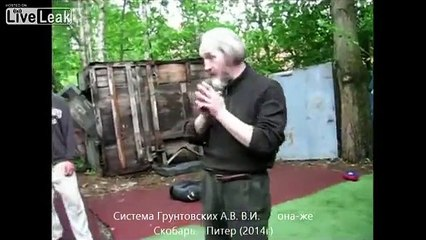 Another epic beard man from Russia teaches martial arts