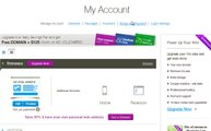 User Account Settings for Wix.com