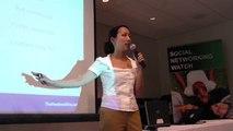 Clara Shih presenting at the Social Networking Conference