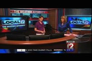 Monroe Tiger Cub Scouts and Cadette Girl Scouts WKRC-TV 12 Tour