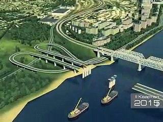 Строительство четвертого моста в Красноярске
