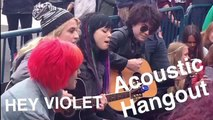 Hey Violet - Acoustic Hangout, May 20th 2015 Amsterdam