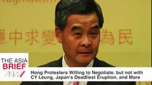 TAB  Hong Kong Protesters Will Negotiate, but not with Leung