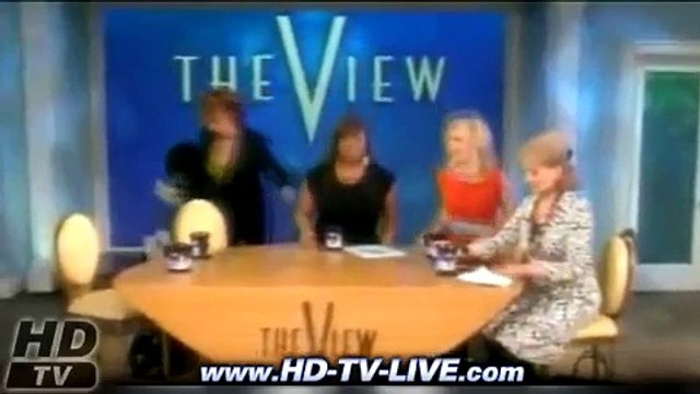 Lady Gaga on The View - January 22, 2010