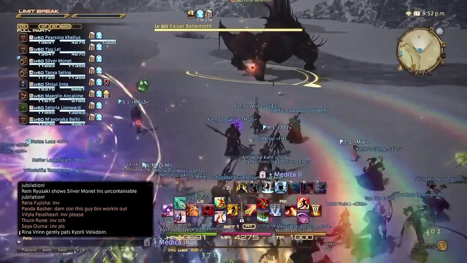 FFXIV Heavensward - S rank gone bad (for me)