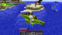 "Minecraft Dinosaurs | Jurassic Craft Modded Survival Ep 74! ""JURASSIC WORLD SEA CAGE!"""