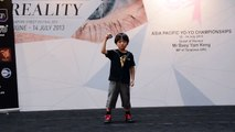 Kazuya Murata (Yoyo Baby) Increidible - Asia Pacific Yoyo Championship