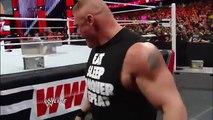 Brock Lesnar brawls with Mark Henry_ Raw, March 3, 2014 WWE Wrestling On Fantastic Videos