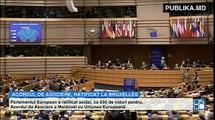 EVENIMENT ISTORIC! Parlamentul European a ratificat Acordul de Asociere între Moldova şi UE