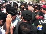 Student protest in Quetta-Geo Reports-07 Sep 2015