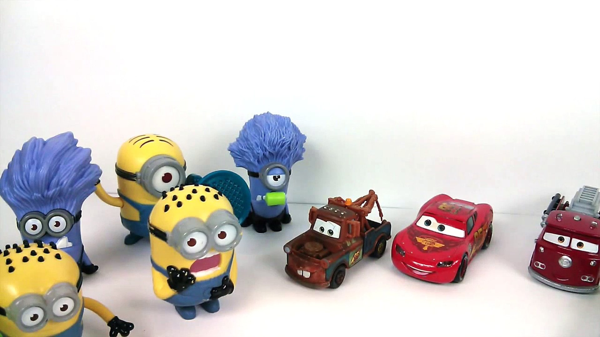 Funny One Liner Jokes with Disney Cars Mater and Despicable Me minions