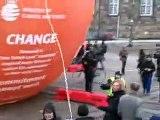 copenhagen c0p15  civil disobedience climate action success 14th december 2009