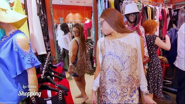 Cours d'anatomie dans les Reines du shopping !