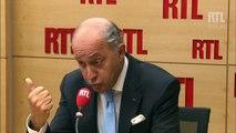 """Laurent Fabius : """"Si tous les réfugiés viennent en Europe, Daesh a gagné la partie"""""""