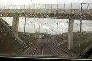 ARRET D'UN TGV EN GARE DE CHAMPAGNE ARDENNE TGV