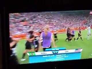 2011 World Cup USA Vs. Brazil -USA WINS!