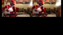 Mighty Morphin Power Rangers Theme Guitar Cover