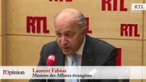 """TextO' : Laurent Fabius : """"Si tous les réfugiés viennent en Europe ou ailleurs, Daesh a gagné la partie"""""""