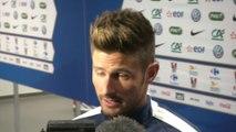 Foot - Amicaux - Bleus : Giroud «J'ai manqué de réussite et d'efficacité»