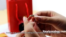 Cartier Juste Un Clou Ring Replica cheap price and supreme quality - Pink Gold Diamonds B4094800