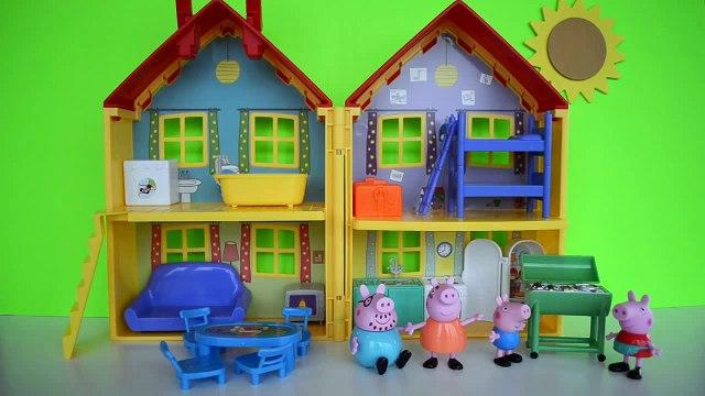 Pig George da Familia Peppa Pig com Medo da Catapora da Peppa  Em Portugues Tototoykids