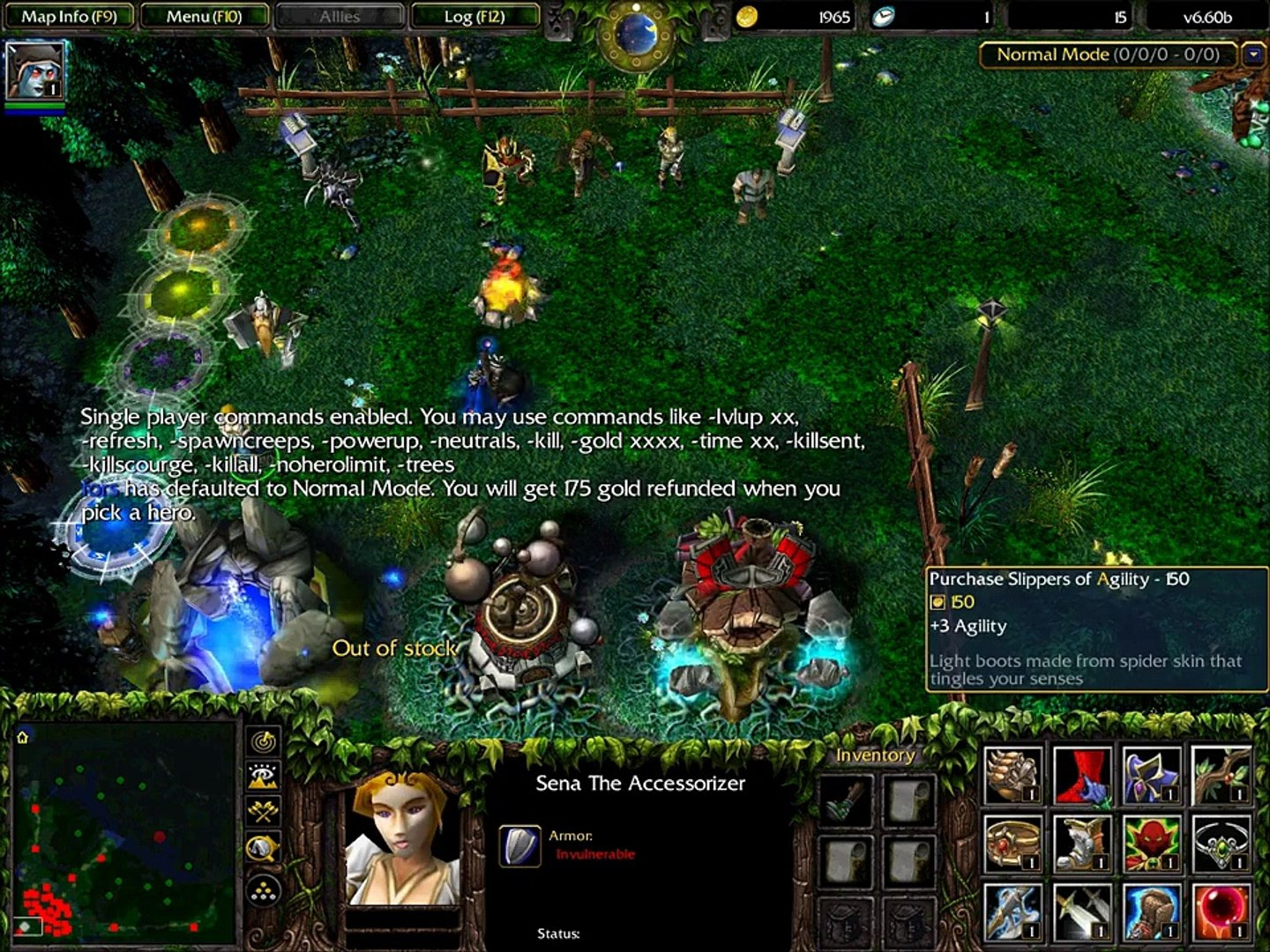 Warcraft Iii Defense Of The Ancients 6 60b Gameplay Video