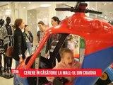 Cerere in căsătorie la mall-ul din Craiova