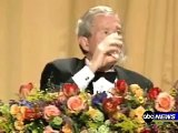 Bush Realtime Reaction to Colbert Speech