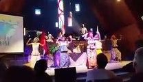 Nicole D. Ford (Las Vegas) Drums: Olabisi African Drum & Dance Ensemble