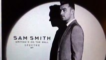 """Sam Smith James Bond 007 SPECTRE Theme Song: """"Writing On The Wall"""""""