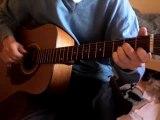 Guitare Eric clapton Tears in heaven