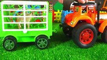 Tractors for children. Tractor videos for children kids toddlers. Toy tractor