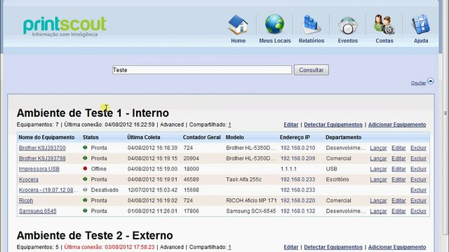 PrintScout - Demonstração de Uso [Enttry Softwares]