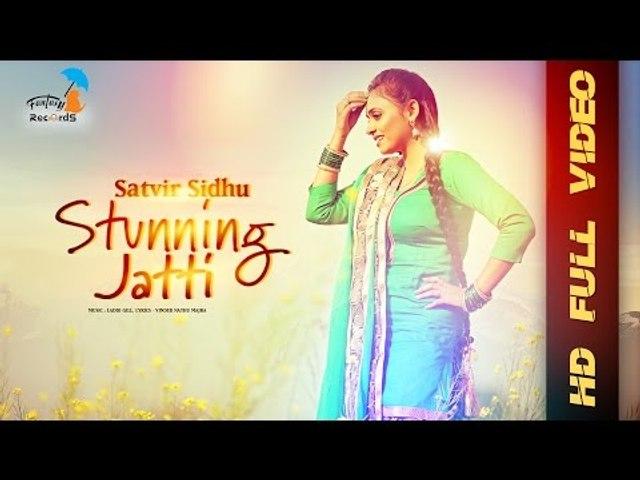 Satvir Sidhu - Stunning Jatti   Official Music Video   Fantasy Records