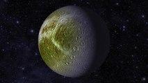 Cassini Maps Saturn's Moon Dione