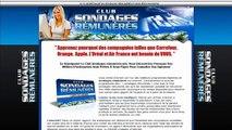 Sondages-Remuneres.net - Sondage rémunéré sur Internet