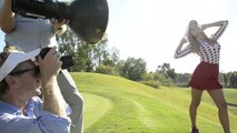 Golf Digest Behind the Scenes - Behind The Scenes With Paige Spiranac