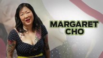 """Golf Digest Behind the Scenes - Comedian Margaret Cho Interviews Herself as """"Her Mother"""" The Golfer"""