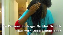 How to make Coconut Milk Deep Conditioner AND Shampoo! Hair Care from Start to Finish!