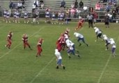 Middle School Football Team Scores Amazing Touchdown