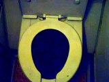 Mile high toilet