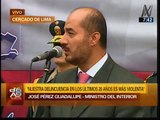 Yo creo en el presidente Ollanta Humala sobre muerte de Emerson Fasabi, dijo Pérez Guadalupe
